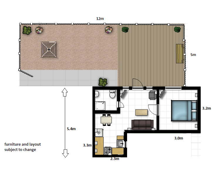 Apartment 26 Floorplan