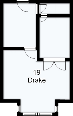 Apartment 19 Drake Floorplan