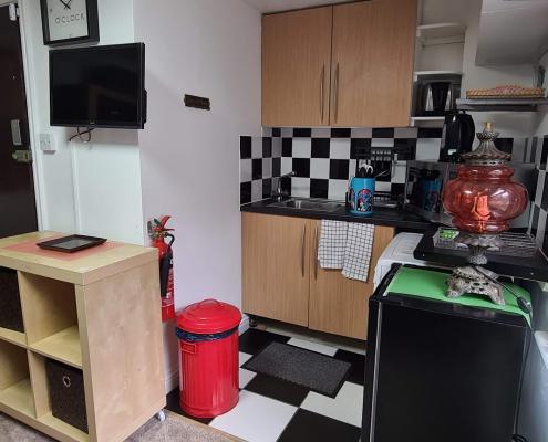 Apartment 25 - Kitchen Area